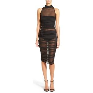 Missguided Mesh Bodycon Dress